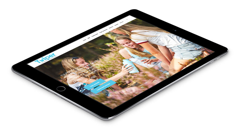 Tablet Tulper website