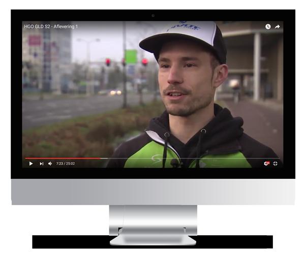 Video Fietskoeriers Apeldoorn
