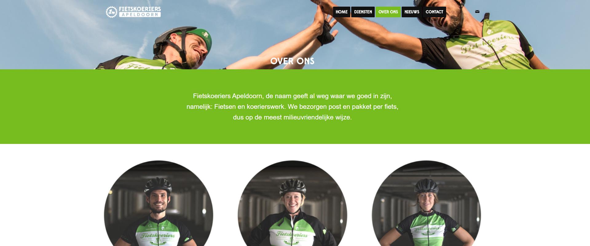 Storytelling begint bij de 'Over Ons' pagina van je website.