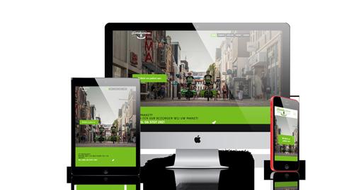 website ontwikkeling fietskoeriers apeldoorn alle schermen