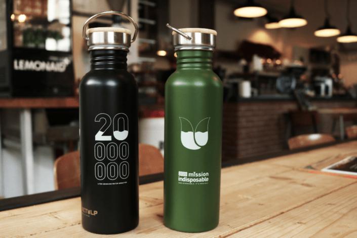 Retulp bedrukte flessen - mission indisposable 2020