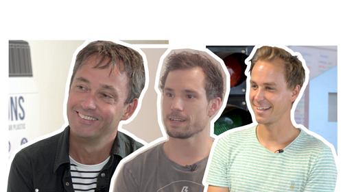 Richard Gabriel, Peter Dorenbos, Jan-Paul de Beer